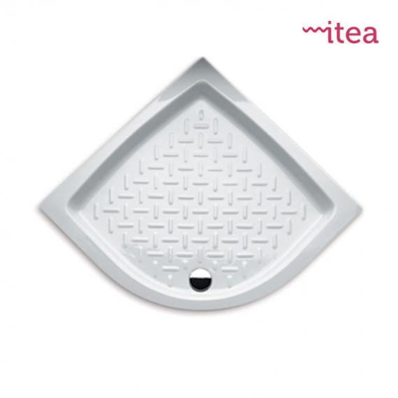 Piatto Doccia 90x90 Stondato.Piatto Doccia 80x80 Curvo Bianco In Ceramica Altezza 10 Cm