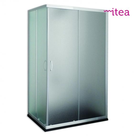 BOX DOCCIA BIK 80X100X185 ANG SCOR CRS 4MM PERL BI
