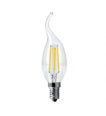 Lampada Led C35 E14 Oliva 5w=40w 3000k Wireled Greenlight