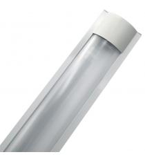 Plafoniera Slim 2x 120 Cm Per Tubo Led T8 Ip40