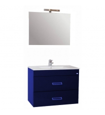 MOBILE BAGNO MOD. FLY 60 2CASS BLU ELETTRICO