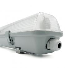 PLAFONIERA 1X18W IP65 STAGNA PER TUBI LED FENIX
