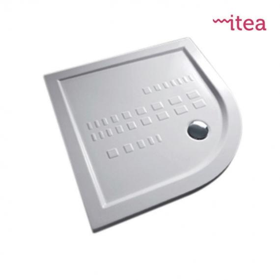 Piatto Doccia 90x90 Stondato.Piatto Doccia 80x80 Curvo Bianco In Ceramica Altezza 5 5 Cm