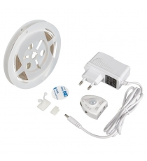 KIT STRIP LED SOTTOLETTO 2M C/SENSORE E ALIMENTATO