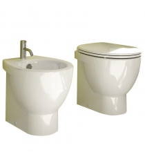 SET SANITARI 3 PEZZI SERIE LIGHT NEW CM 50 FILO MU