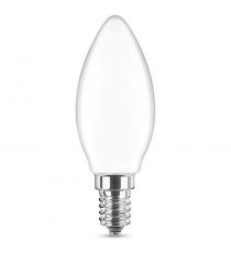 OLIVA LED E14 3.6W-30W 2700K FILAMENTO OPALE