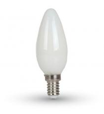 Lampada Led C37 E14 Oliva 3w=23w 6500k 230 Lumen