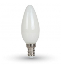 Lampada Led C35 E14 Oliva 7w=70w 2700k Greenlight
