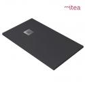Piatto Doccia Easystone 80x140 Antracite H3.5 Riducibile