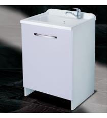 Mobile Lavatoio 60x50 Legno Mod. Style 1cas Bianco