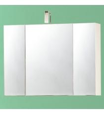 Specchio Contenitore 80 3 Ante C/aplique