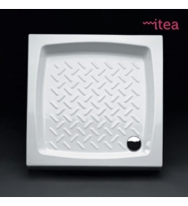 Piatto Doccia 70x70 Quadrato Ceramica Bianco Spessore 10 Cm.