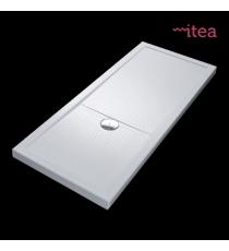 Piatto Doccia Olympic Plus 80x140 Rettangolare Acrilico Bianco Spessore 4,5 Cm.