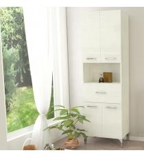 Colonna Doppia Rubino Rovere Bianco 4ante 1cassett