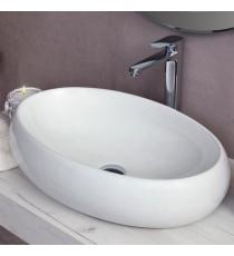 Lavabo Modello Goa 59x40x15 Da Appoggio In Ceramica