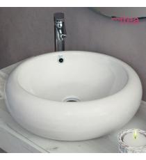 Lavabo Modello Rap 52x52x17 Da Appoggio In Ceramica