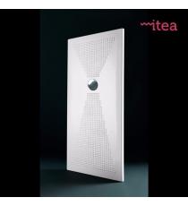 Piatto Doccia Slim 80x100 Rettangolare Ceramica Bianco Spessore 3 Cm.