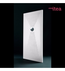 Piatto Doccia Slim 80x140 Rettangolare Ceramica Bianco Spessore 3 Cm.
