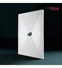 Piatto Doccia Slim 80x80 Quadrato Ceramica Bianco Spessore 3 Cm.